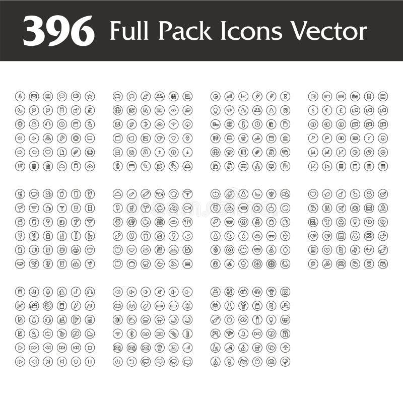 Van het het embleemontwerp van het brieveng blad de vectorillustratie vector illustratie