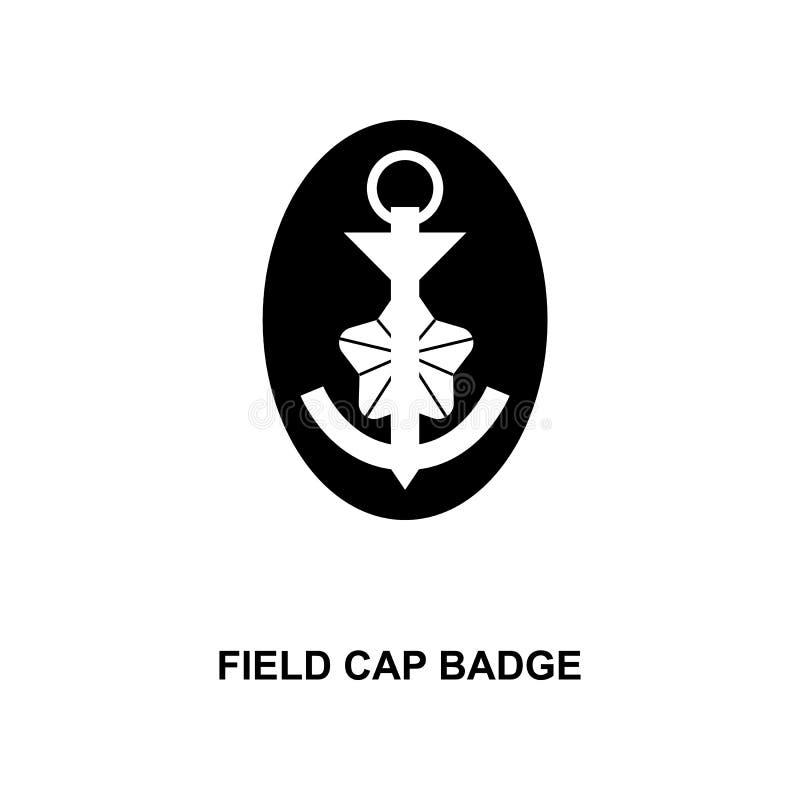 van het het gebiedsglb kenteken van Japan de militair rangen en insignes glyph pictogram royalty-vrije illustratie