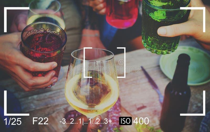 Van het het Beeldkader van de camerafotografie de Momentopnameconcept stock foto's