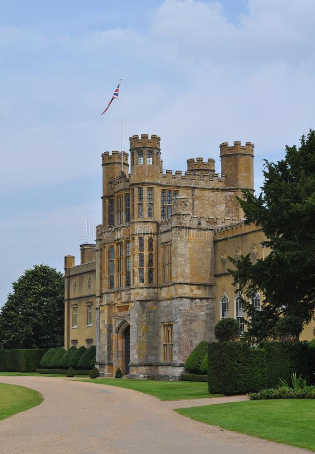 Van het huisworcestershire van het Coughtonhof de Engelse waardige binnenlanden Engeland het UK stock afbeelding
