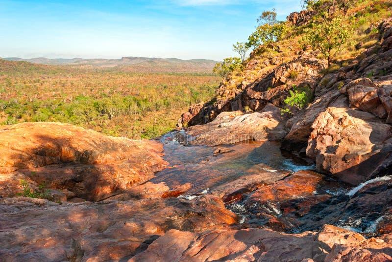 Van het Kakadu het Nationale Park (Noordelijk Grondgebied Australië) landschap stock afbeeldingen