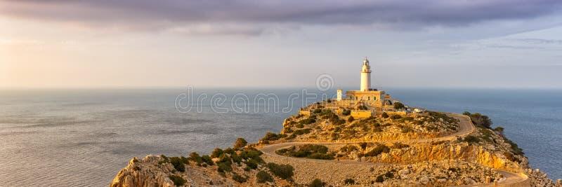 Van het het landschapspanorama van Majorcamallorca GLB Formentor de aard Mediter royalty-vrije stock foto