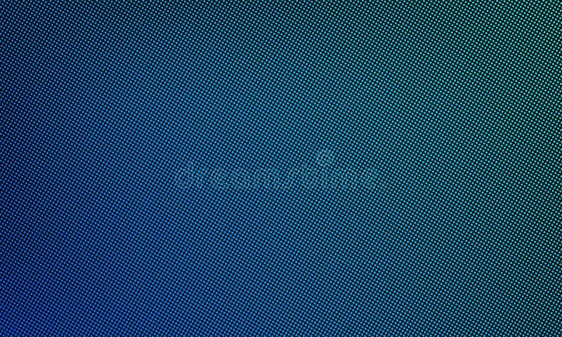 Van het LEIDENE video de textuurachtergrond muurscherm Van de vector digitale blauwe lichte LEIDENE het patroon puntgradiënt royalty-vrije illustratie