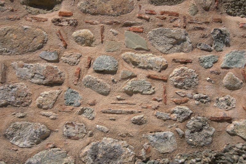 Van het het metselwerk het purpere detail van de steenmuur vlakke behang stock foto's