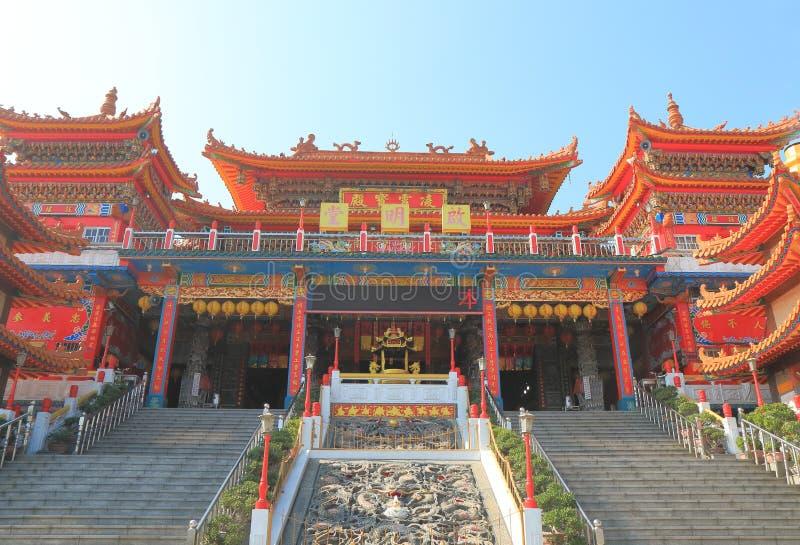 Van het paleislotus van chiming de vijver Kaohsiung Taiwan stock afbeeldingen
