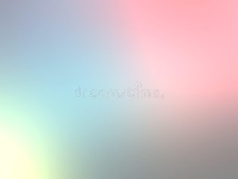 Van het pastelkleur abstract onduidelijke beeld behang als achtergrond, vectorillustratie stock foto's