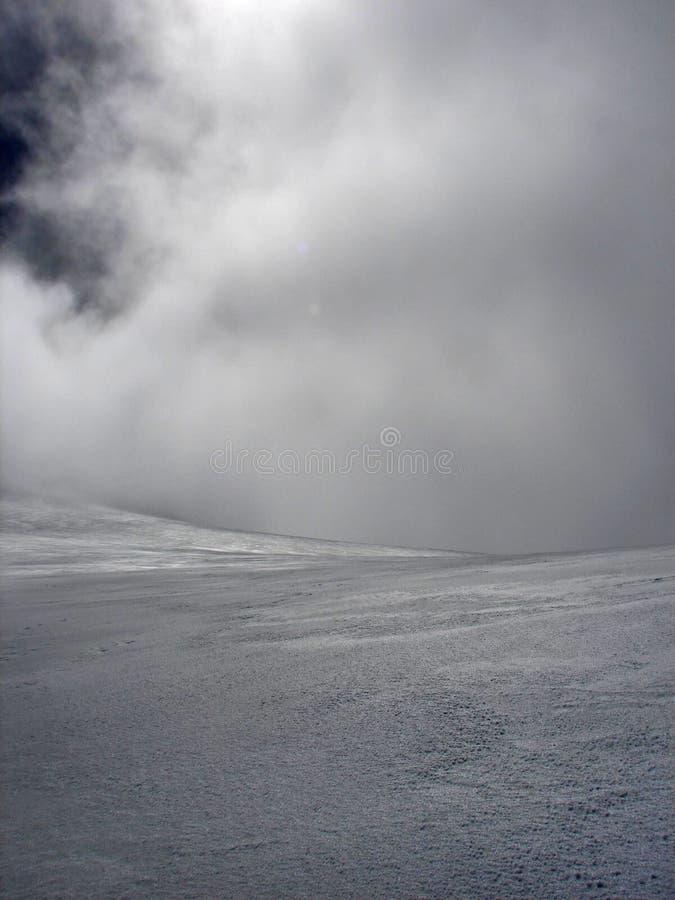 Van het stijgen aan vulkaan Pico DE Orizaba (Citlal royalty-vrije stock afbeeldingen
