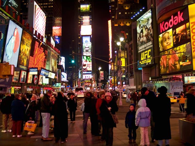 Van het Times Square 08 Dec royalty-vrije stock afbeeldingen