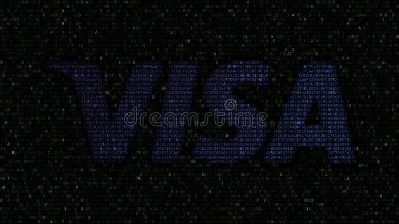 van het visum (NYSE: V) is een globaal bedrijf van de betalingentechnologie gestationeerd in San Francisco, Californië embleem va vector illustratie