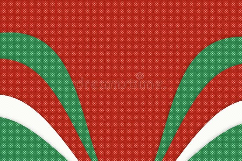 Van het het werk abstracte patroon van de Kerstmiskunst de vormachtergrond vector illustratie