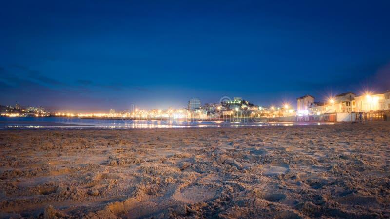 Van het zand aan Marseille stock foto's
