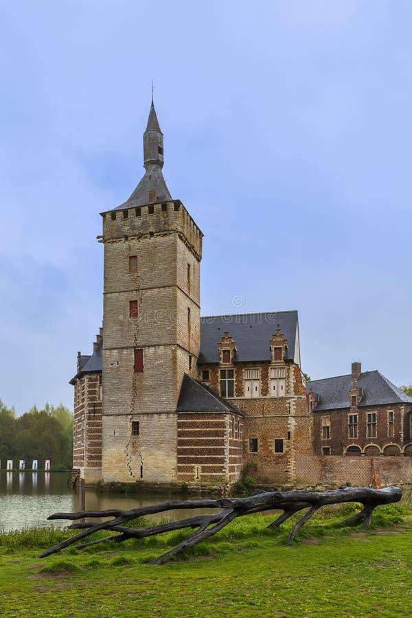Van Horst Castle en Bélgica foto de archivo libre de regalías