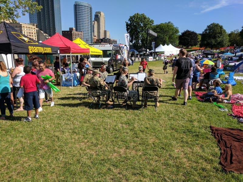 4 van Juli 2017 Grand Rapids, mi royalty-vrije stock afbeeldingen