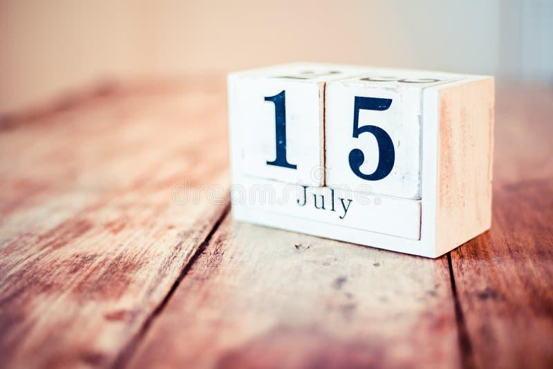 15 van Juli - 15 Nationaal Juli - geeft iets weg Dag De nationale I-Dag van Liefdepaarden De nationale Dag van de Tapiocapudding  stock fotografie