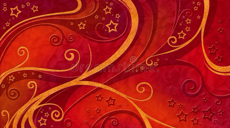 Van Kerstmis rood patroon Als achtergrond royalty-vrije illustratie