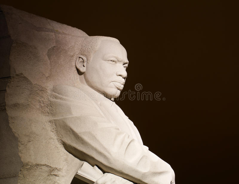 van Martin Luther King stock fotografie