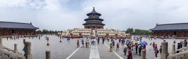 19 van Mei, 2018: De Zaal van Gebed voor Goede Oogst bij de Tempel van Hemel, Peking, China, Azië royalty-vrije stock fotografie