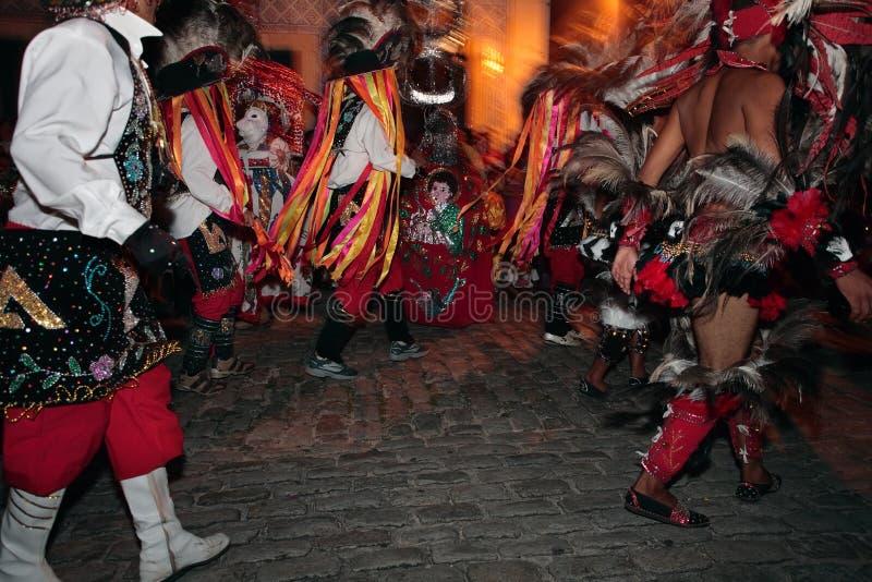 Van meuboi van Bumba het festival Carnaval Brazilië royalty-vrije stock afbeelding