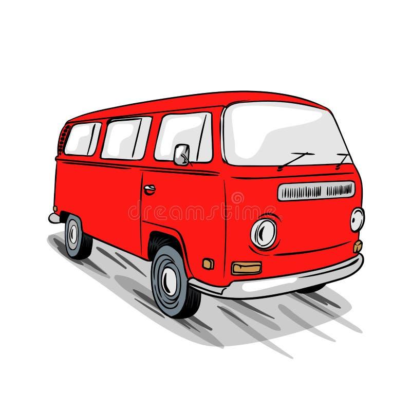 Van-Reisen lizenzfreie abbildung