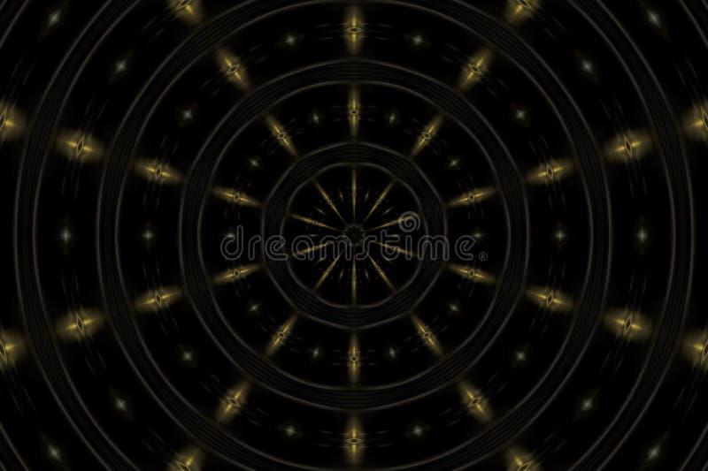 Van Spacial abstract patroon als achtergrond royalty-vrije illustratie