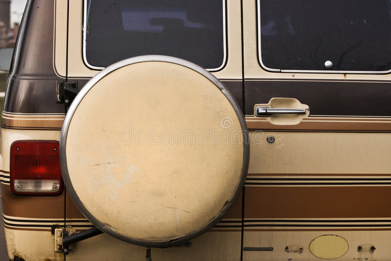 Download Van spare stock photo. Image of back, mini, camper, brown - 4512258