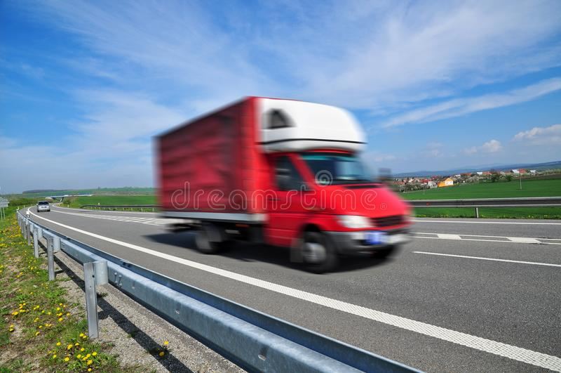Van supply στοκ εικόνα