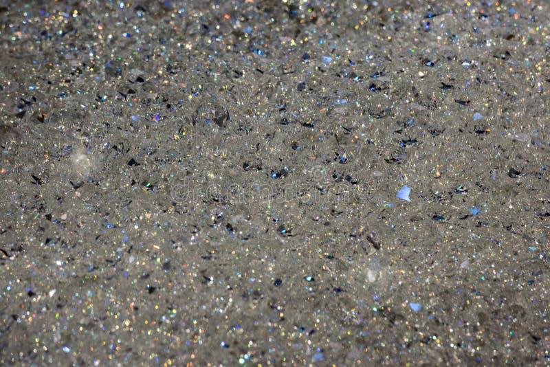 Van Swarovskikristallen zachte textuur als achtergrond royalty-vrije stock afbeelding