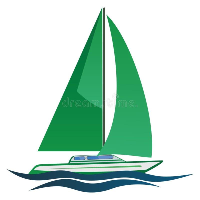 Van vaagheid in vaagheid op mijn zeilboot, is het leven mooi! royalty-vrije stock foto