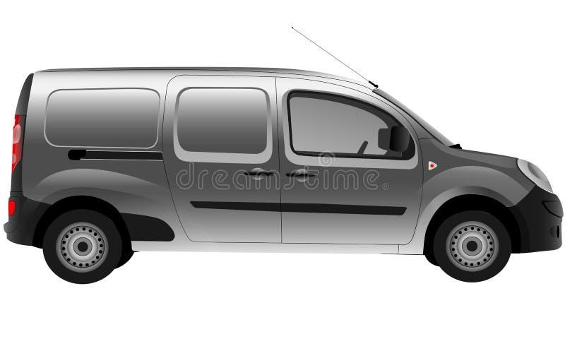 Van vector stock photo