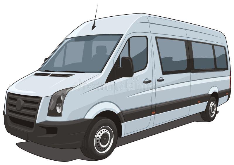 Микроавтобус картинка в кривых