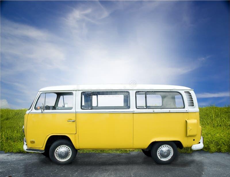van vintage κίτρινος στοκ φωτογραφία με δικαίωμα ελεύθερης χρήσης