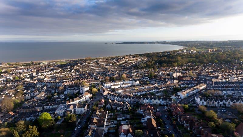 Van West- Swansea Zuid-Wales royalty-vrije stock fotografie