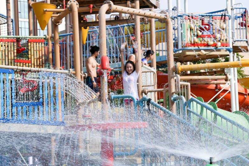 Vana Nava Waterpark Hua Hin at Hua Hin royalty free stock photo