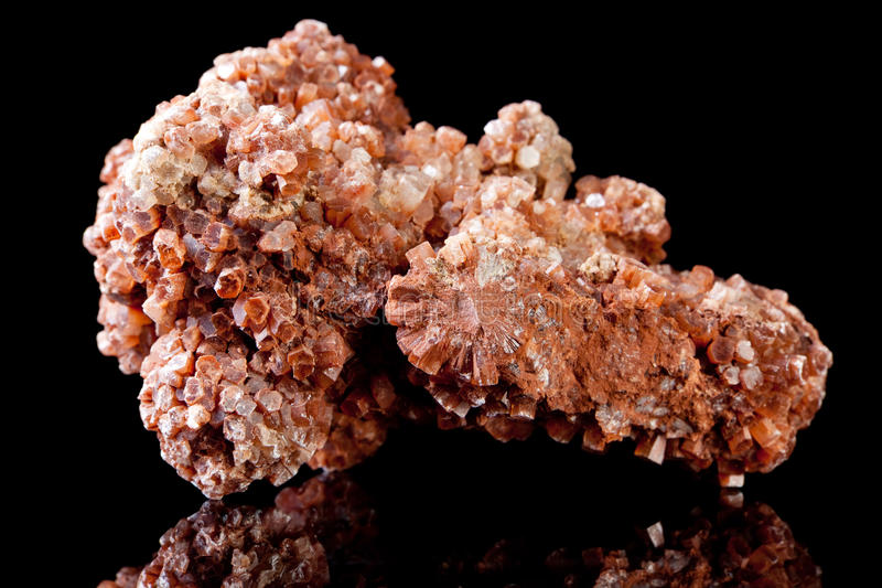 Vanadinite mineral rock royalty free stock photography