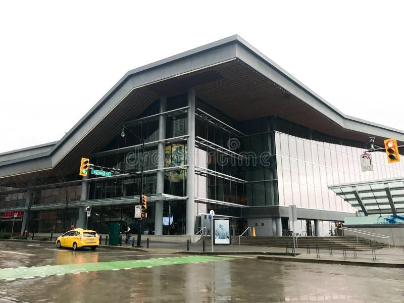 Vancôver Convention Center, Columbia Britânica fotografia de stock