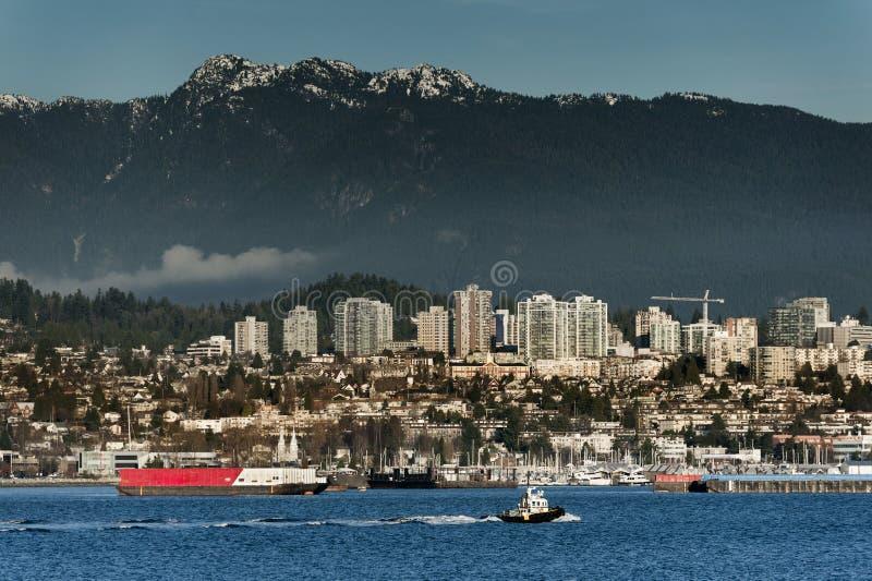 Vancôver norte, Canadá fotos de stock royalty free