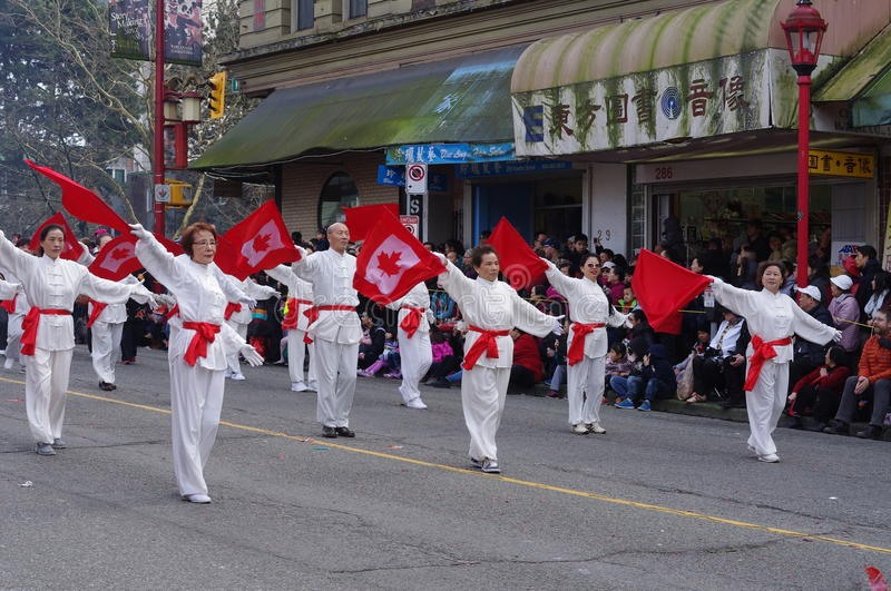 Vancouver's Chinese New Year parade royalty free stock images