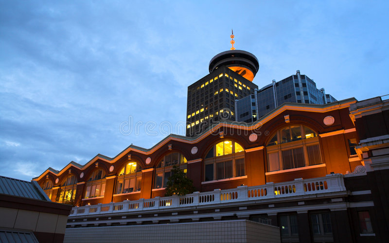 Vancouver à L Aube Photos libres de droits