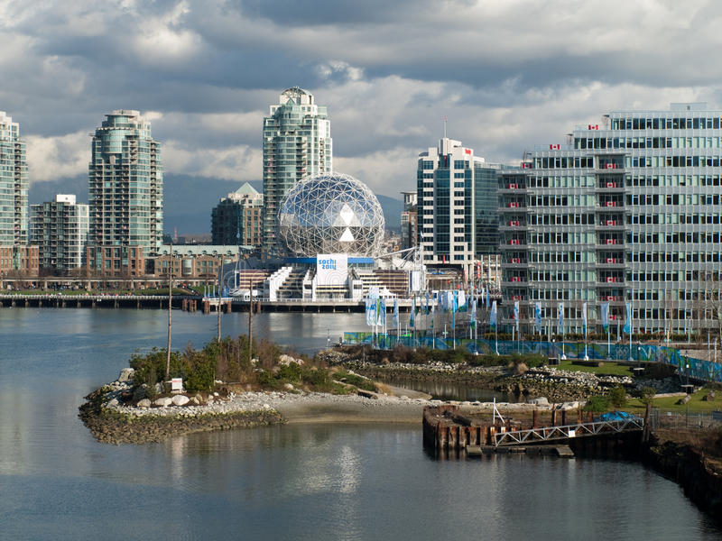 Download Vancouver 2010 - Olympic Village Editorial Image - Image: 13033150