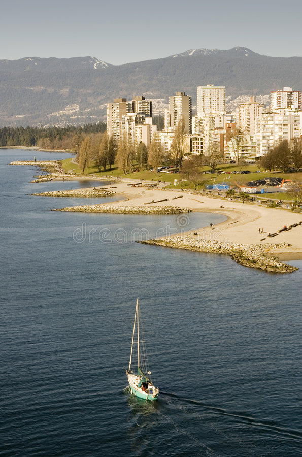 Download Vancouver stock image. Image of beaches, ocean, olympics - 7992821