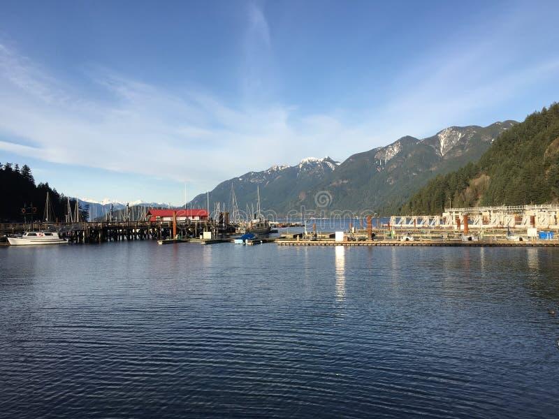 Vancouver ad ovest, Columbia Britannica, Canada fotografia stock