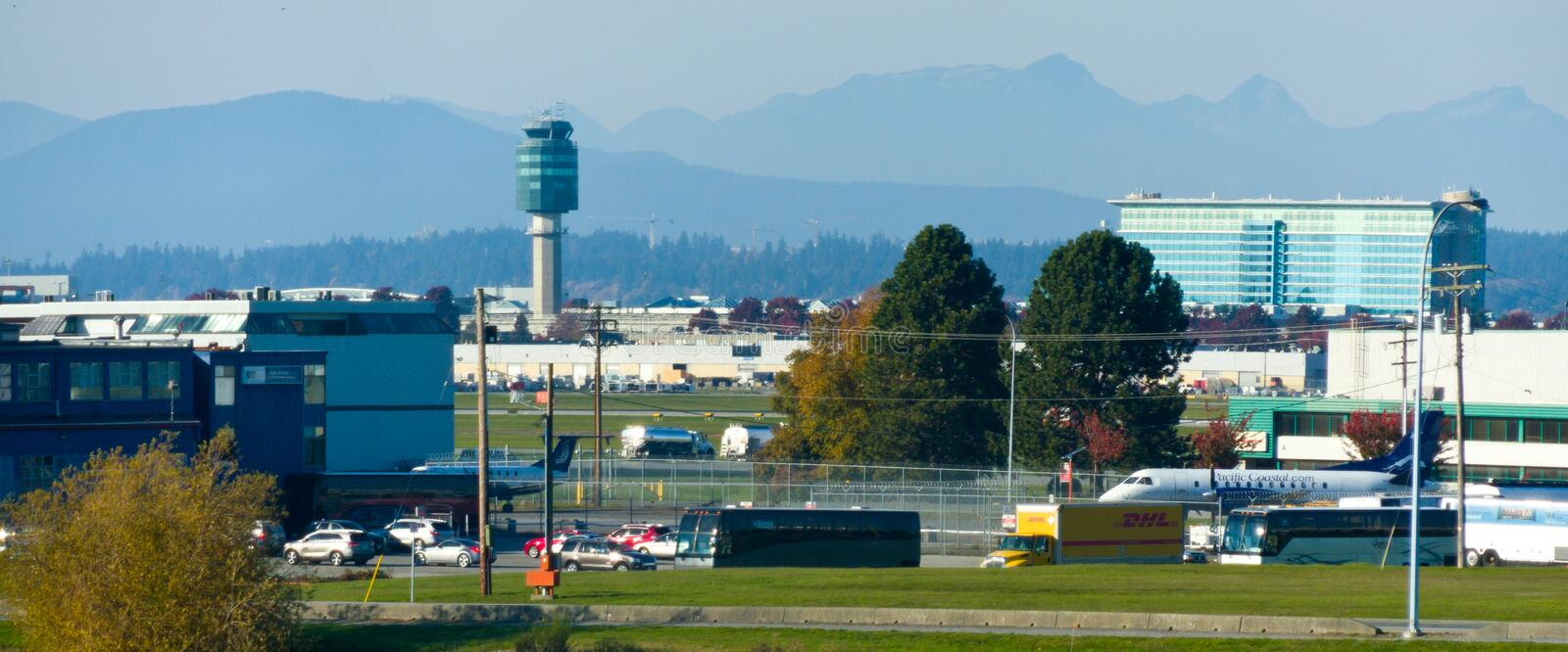 Vancouver Airport stock images