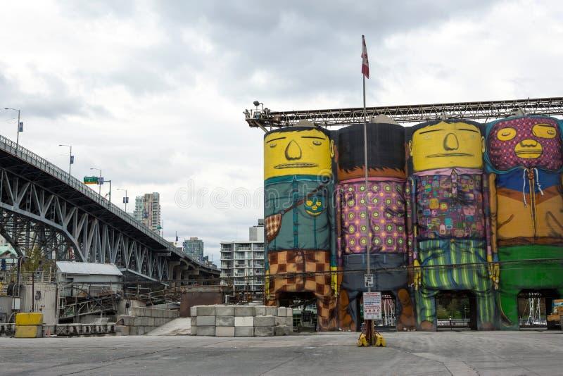 Vancouver-Ansicht lizenzfreies stockbild