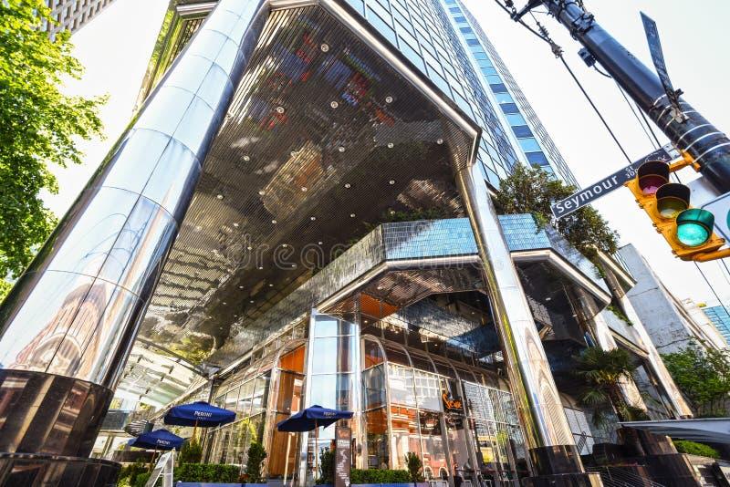 Vancouver, architecture moderne photos libres de droits