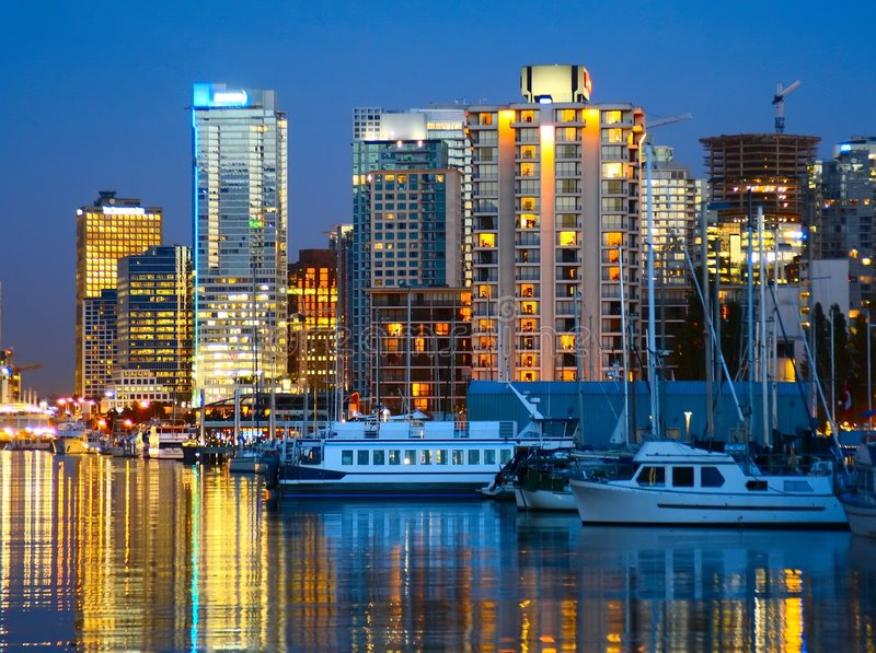 Vancouver, B.C. royalty free stock photo