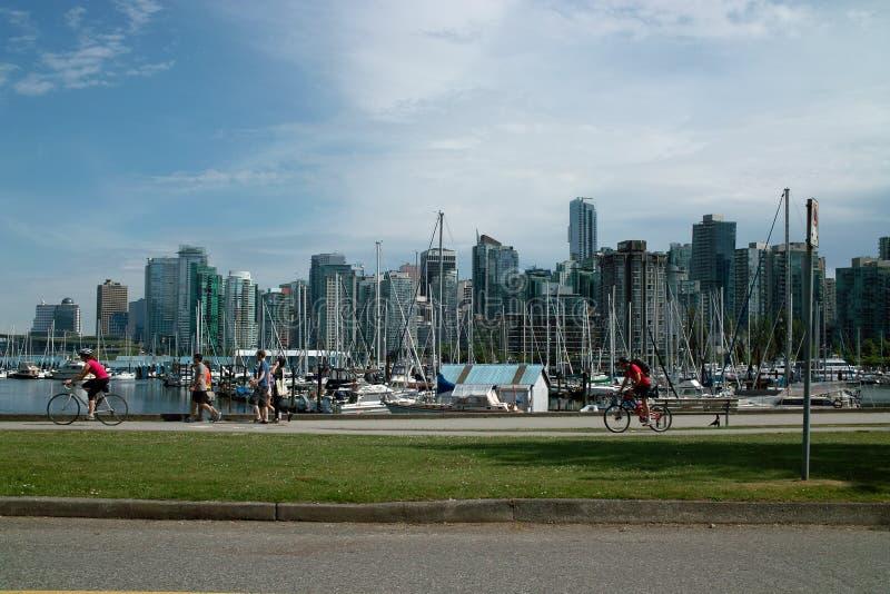 Vancouver B.C., Kanada fotografia stock