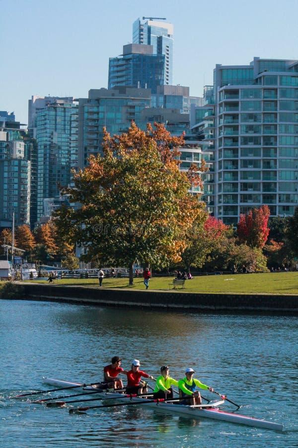 Vancouver BC royalty-vrije stock foto's