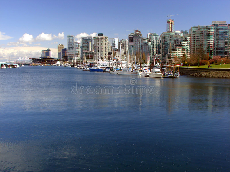 Download Vancouver, BC, Canada stock image. Image of coast, modern - 4764585