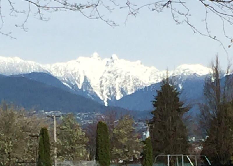 Vancouver bc Canada fotografia stock