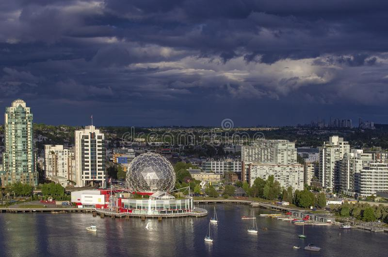 Vancouver BC Kanada lizenzfreies stockbild